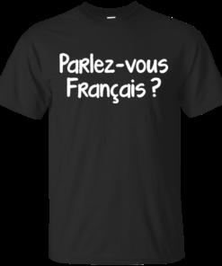 Parlezvous franais Cotton T-Shirt