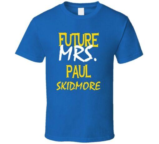 Paul Skidmore St. Louis Hockey Future Mrs. T T Shirt