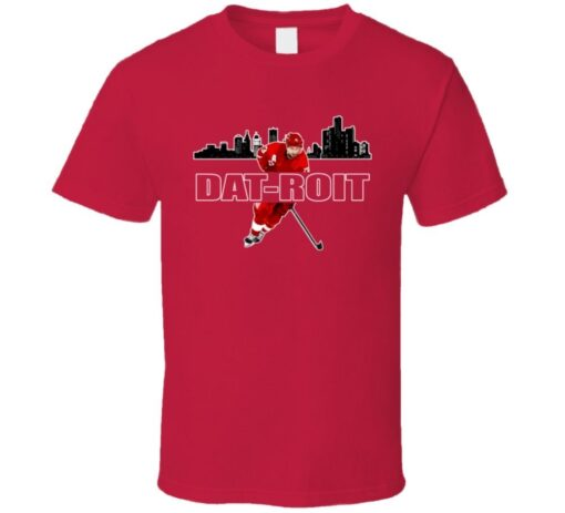 Pavel Datsyuk Detroit Datroit Hockey Town T Shirt