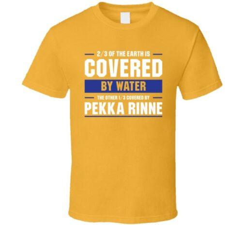 Pekka Rinne Hockey Fan Gold Gift T Shirt