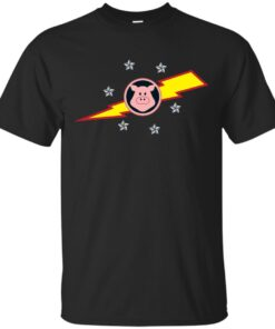 Pigs in Space Cotton T-Shirt