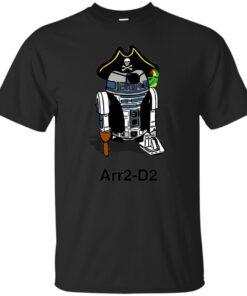 Pirate Droid Arr2D2 Cotton T-Shirt