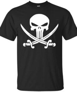 Pirate Punishment White Cotton T-Shirt