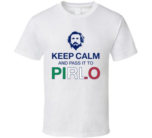 Pirlo Italy Soccer Team T Shirt