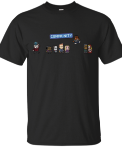 Pixel Community Cotton T-Shirt