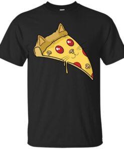 Pizza Cat Cotton T-Shirt