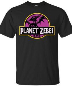 Planet Zebes Cotton T-Shirt