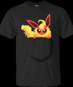 [Pocket] FlamingFox generation i Cotton T-Shirt