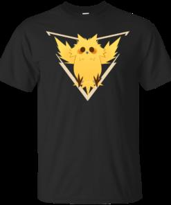 [Pokemon GO] Cute Team Instinct team instinc Cotton T-Shirt