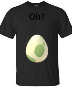 Pokemon GO Egg Hatch Black Text Cotton T-Shirt