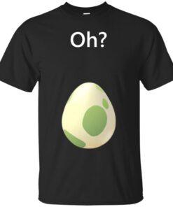 Pokemon GO Egg Hatch White Text Cotton T-Shirt