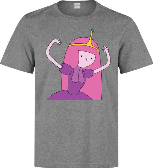 Princess Bubblegum Adventure Time Fun Play Top Drug Men In Gray T Shirt