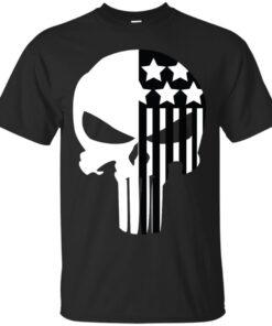 Psycho Skull Cotton T-Shirt