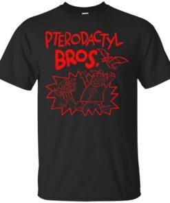 Pterodactyl Bros Cotton T-Shirt