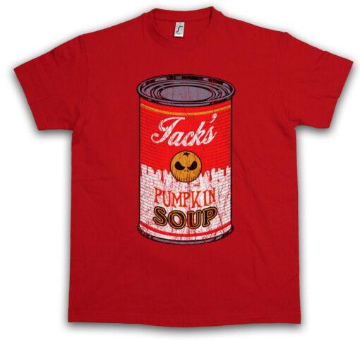Pumpkin Soup Ii Jack Nightmare Before Christmas Tim Skellington Nbc T Shirt