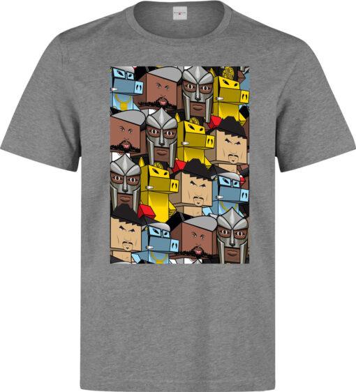 Quasimoto Mf Doom Madlib Ghetto Kids Play Hip Hop Rap Men Gray T Shirt
