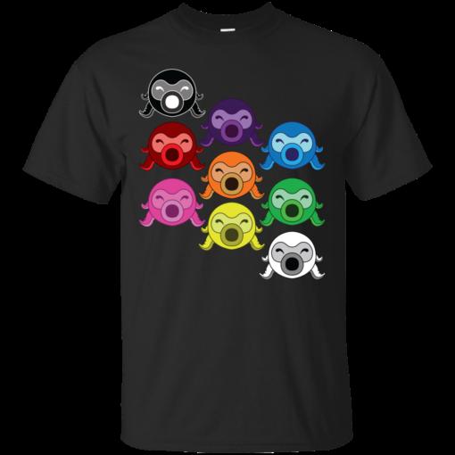 Rainbow Octoroks throw Cotton T-Shirt