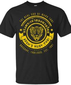 Real God of Muay Thai Cotton T-Shirt