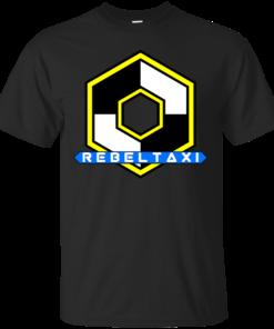 RebelTaxi Hexigon Logo Cotton T-Shirt