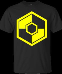 RebelTaxi Yellow Logo Cotton T-Shirt