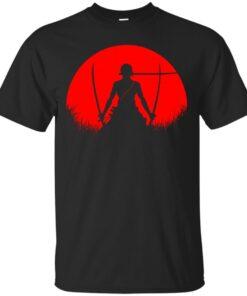 Red Moon Zoro Cotton T-Shirt