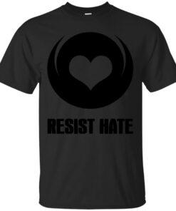 Resist Hate Cotton T-Shirt
