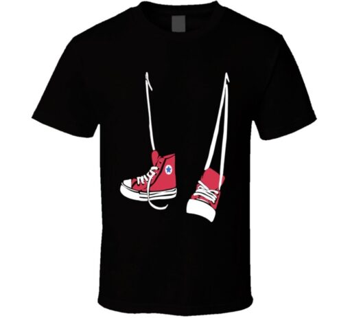 Reverse Red Shoes T Shirt