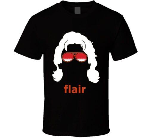 Ric Black Silhouette Style T Shirt