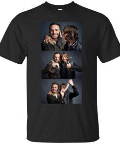 Rick and Daryl Cotton T-Shirt