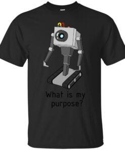 Rick and Morty Robot Cotton T-Shirt