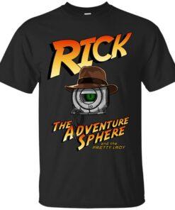 Rick the Adventure Sphere Cotton T-Shirt