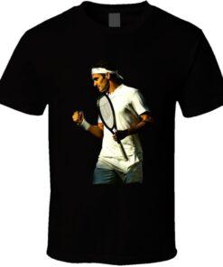 Roger Federer Wimbledon Record 8 Titles Goat Tennis Legend Story T Shirt