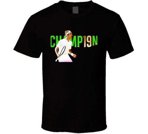 Roger Federer Wimbledon Titles Goat 8 Story Legend Tennis T Shirt