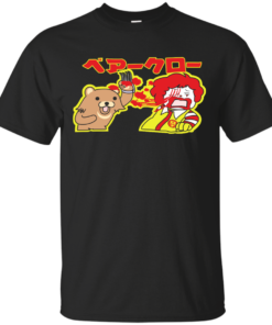 Ronald VS Pedobear Cotton T-Shirt