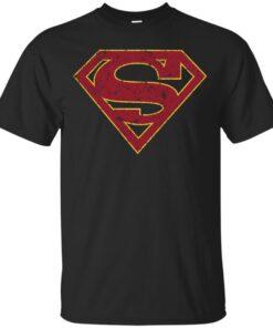 S Melissa Benoist SUPERGIRL grunge Cotton T-Shirt