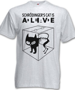 ? S Schrödinger Cat Is Alive Dead - The Big Bang Theory Tv Schroedinger T Shirt