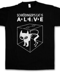 ? S Schrödinger Cat Is Alive Ii Dead - The Big Bang Theory Tv Schroedinger T Shirt