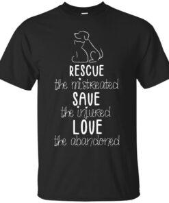 SAFE Rescue Save Love Cotton T-Shirt