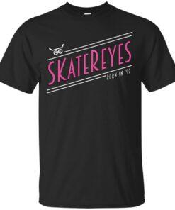 SKateReyes Retro Pink Writing Cotton T-Shirt