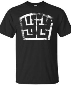 SOLDIER symbol white grunge Cotton T-Shirt
