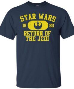 STAR WARS RETURN OF THE JEDI REBEL Cotton T-Shirt