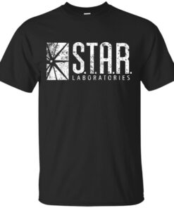 STARS LABS the flash GROUNGE Cotton T-Shirt