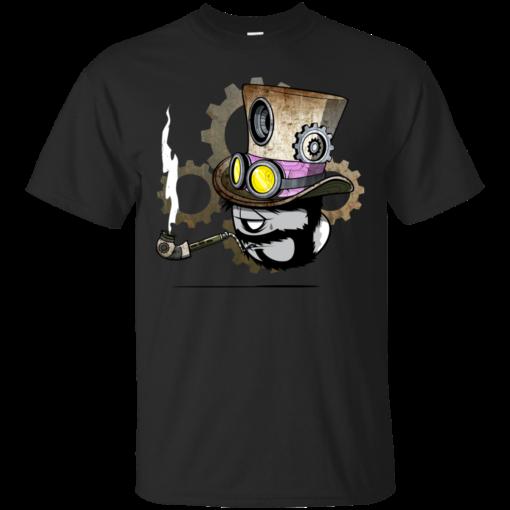 STEAMPUNK Minion rodgon Cotton T-Shirt
