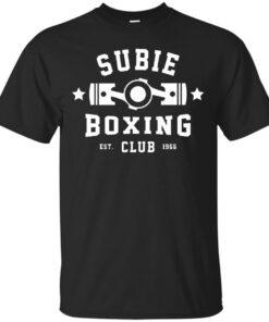 SUBIE BOXING CLUB Cotton T-Shirt