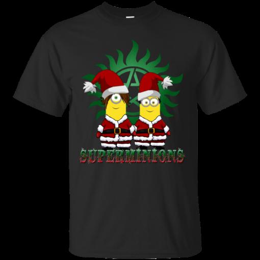SUPERMINIONS CHRISTMAS super minions Cotton T-Shirt