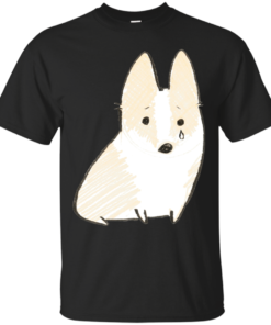 Sad Corgi Cotton T-Shirt