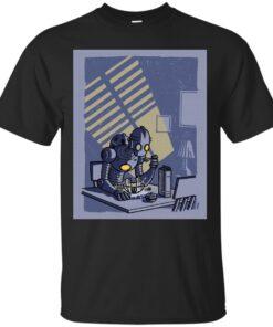 Sad Robot Cotton T-Shirt