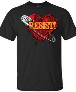 Safety Pin Allies Resist Cotton T-Shirt