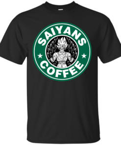 Saiyans coffee Cotton T-Shirt