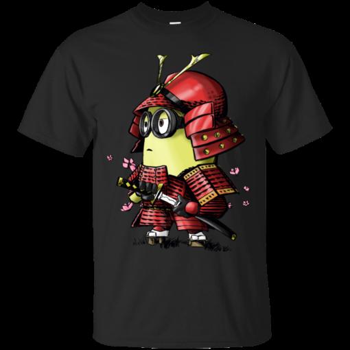 Samurai Minion despicable me minions Cotton T-Shirt
